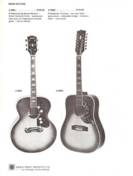 Mann Guitars 70s Catalog Page 2