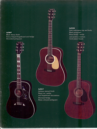 Mann Guitars 80s Catalog Page 6