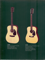 Mann Guitars 80s Catalog Page 7