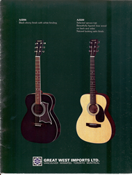 Mann Guitars 80s Catalog Page 3