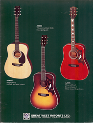 Mann Guitars 80s Catalog Page 5