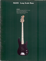 Mann Guitars 80s Catalog Page 11