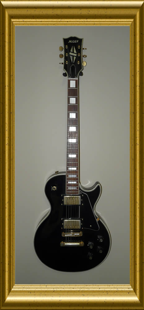 Mann Guitar LP Custom Black