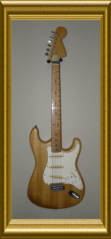 Mann Guitar Stratocaster Front